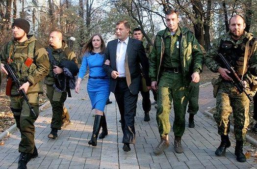 Жінка Захарченка за допомогою ФСБ вбиває терористів не гірше ЗСУ