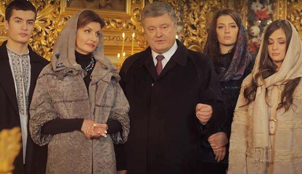 Президент: Різдво – народження надії на спасіння, надії на мир