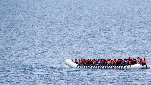Уберегов Ливии утонула лодка смигрантами-нелегалами