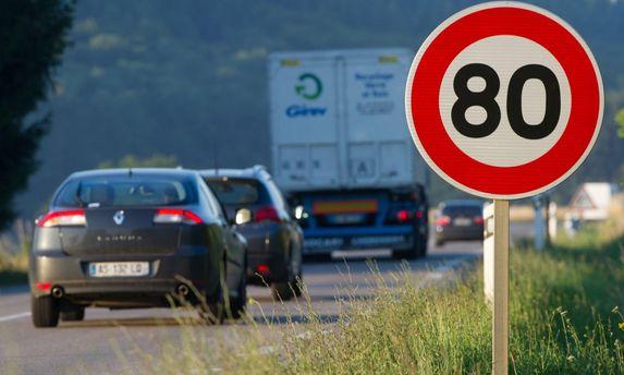 Во Франции понижен лимит скорости на загородных магистралях