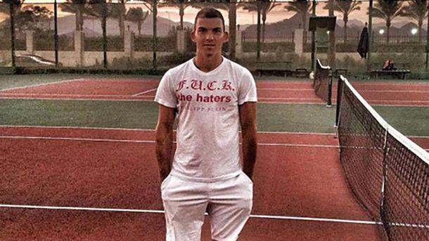 Украинский теннисист попался надопинге