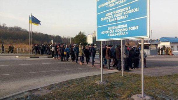 Протести на кордоні з Польщею