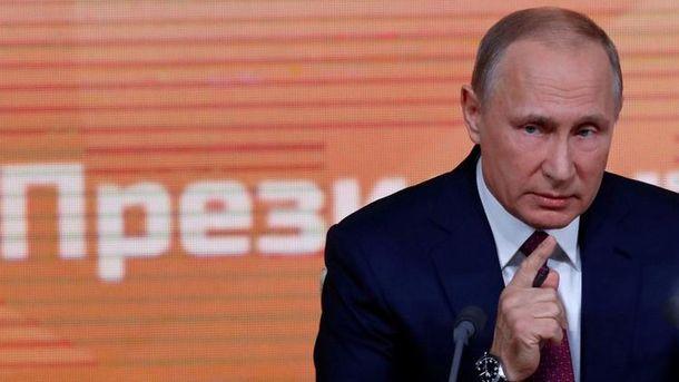 Володимир Путін заявляє, що не хоче замороження конфлікту на Донбасі