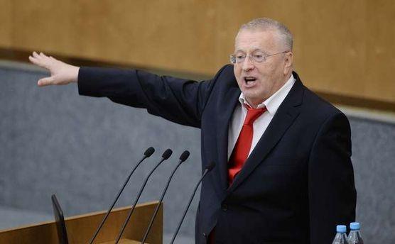 Жириновский— украинскому политологу: «Мывсех вас уничтожать будем, расстреливать»
