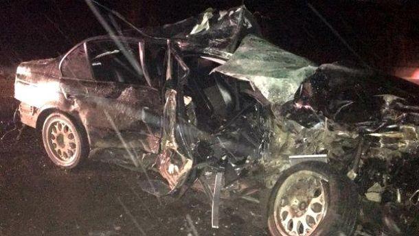 ВВолынской области БМВ врезался врейсовый автобус, погибло два человека