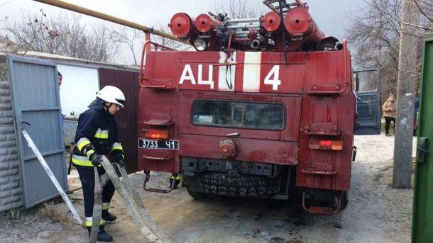 Внаслідок пожежі в одному з будинків Дніпра загинула жінка