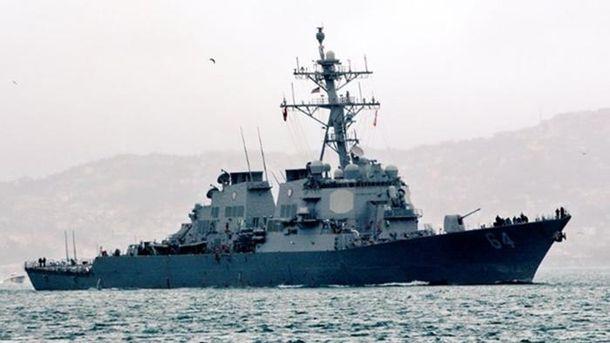 Американский эсминец Carney покинул Черное море: фото