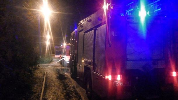 НаВолині спалили машину дочки місцевого судді: опубліковано фото