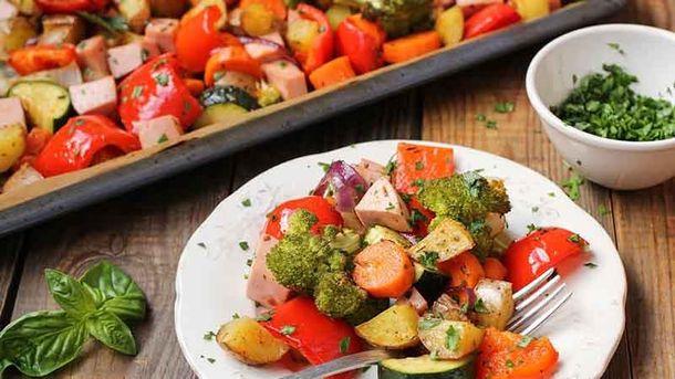 Як правильно запікати овочі