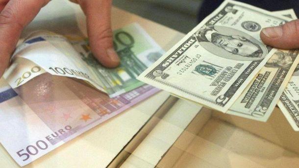 Офіційний курс гривні щодо іноземних валют насьогодні на16 січня 2018