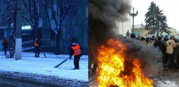 Головні новини 16 січня: сутички під Радою,  Одесу паралізували снігопади