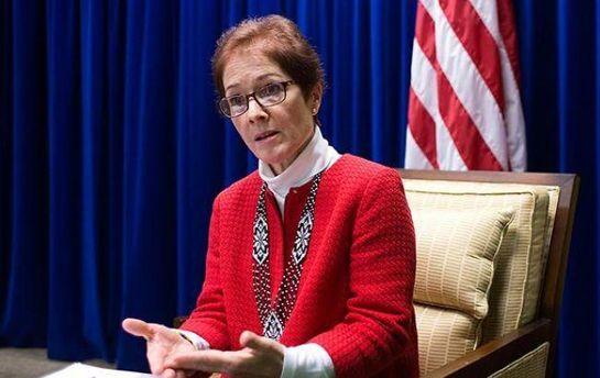 Посол США в Україні озвучила позицію Сполучених Штатів у справі щодо Міхеїла Саакашвілі