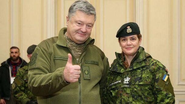 Генерал-губернатор Канады привезла Порошенко