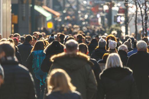 Населення України скоротилося на180 тис. осіб