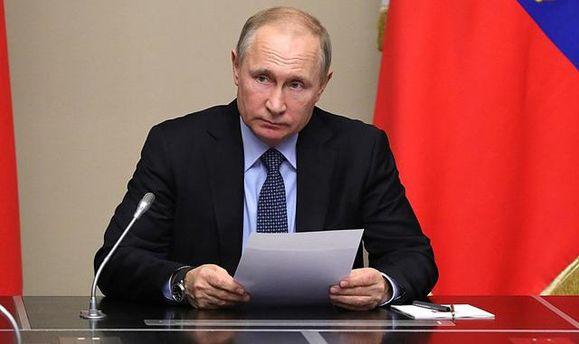 Путін зібрав РадбезРФ через закон про деокупацію Донбасу