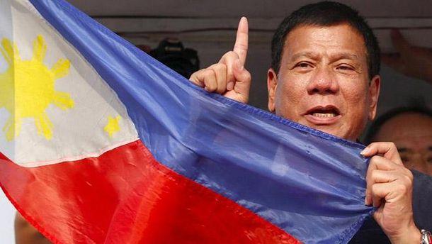 Президент Филиппин Дутерте: Пристрелите меня, ежели ястану диктатором. Янешучу
