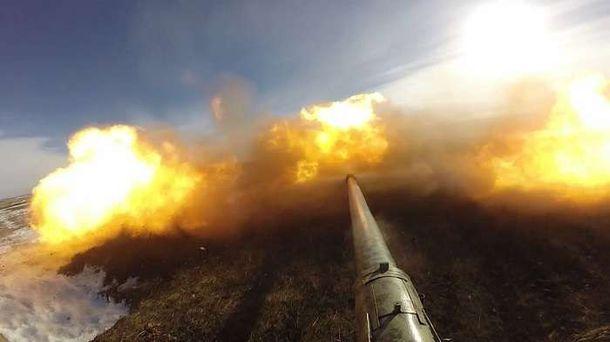 Боевики обстреляли захваченный Докучаевск— штаб АТО