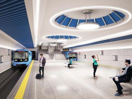 ВКиеве объявили тендер построительству линии метро наВиноградарь
