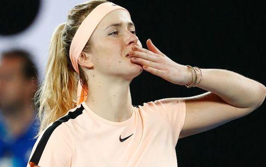 Попри виліт з Australian Open, Світоліна покращила позиції у світовому рейтингу