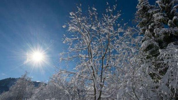 Прогноз погоди на 25 січня: в Україну йде антициклон