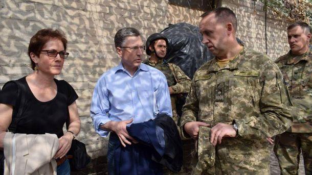 Сурков і Волкер уДубаї незмогли домовитися щодо закону про Донбас