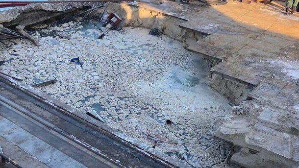 Водному із найбільших портів України обвалився причал: підприємству завдано шалених збитків