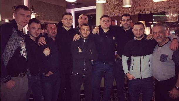 Бой Усик – Бриедис Ломаченко приехал поддержать украинца