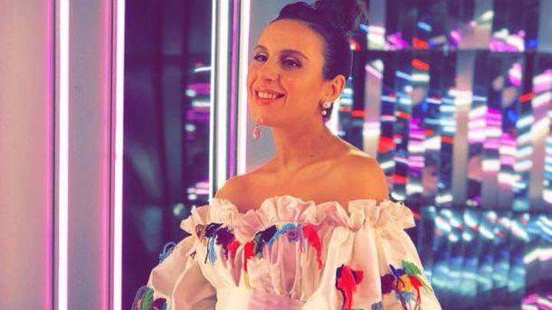 Джамала одягнула вишиту романтичну сукню для вагітних (фото)