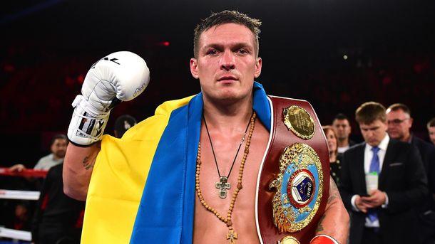 Олександр Усик укотре наголосив, що він – українець