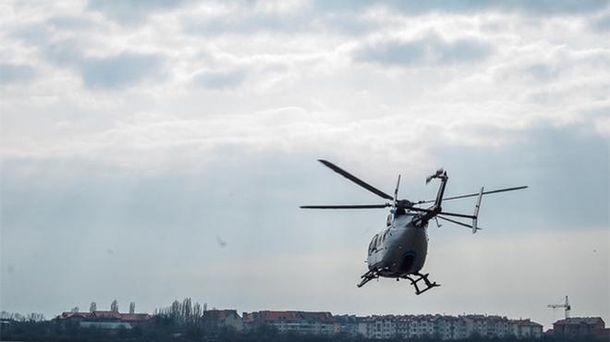Украинскую границу начнут охранять боевые вертолеты