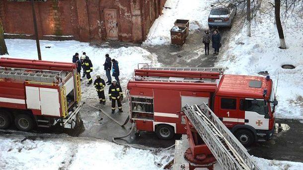 ВДнепре произошел пожар вполиклинике