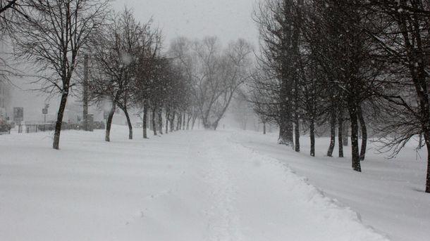 Синоптики розповіли, вяких областях завтра піде сніг