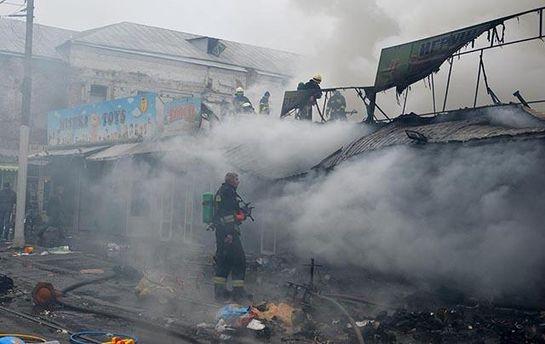ВДнепре 44 спасателя тушили пожар, первопричиной которого стал ларек сшаурмой