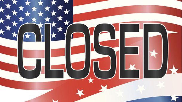 Руководство  США прекратило свою работу