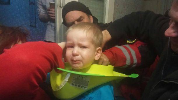 Спасатели вызволили из
