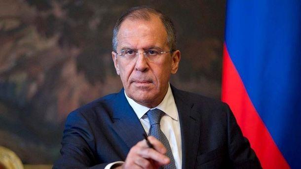 Лавров заявив, що Росія не має наміру каятися і вибачатися за свої дії в Україні