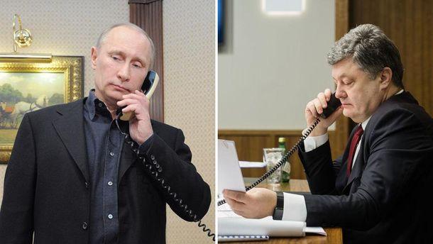 Порошенко провів телефонні переговори зПутіним