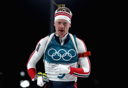 Біатлон на Олімпіаді-2018: перемогу в чоловічій індивідуалці святкує Йоханнес Бьо
