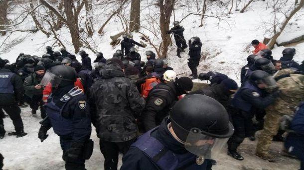 Суд на Трухановим: збільшилась кількість поранених внаслідок сутичок