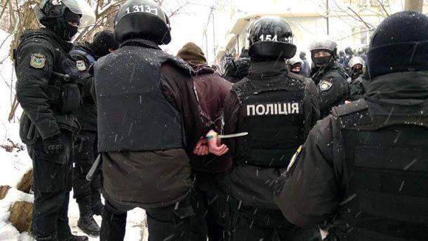 Сутички під судом у справі Труханова: в учасників бійки вилучили зброю