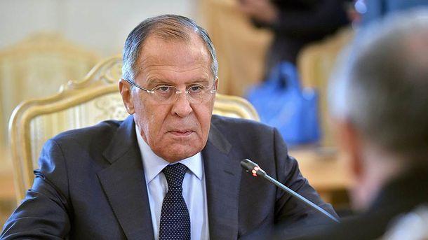 Лавров назвав винних в російській анексії Криму та війні на Донбасі