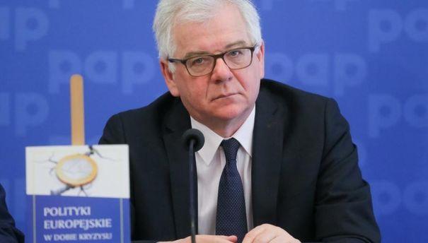 Руководитель МИД Польши разъяснил невозможность улучшения отношений сРоссией