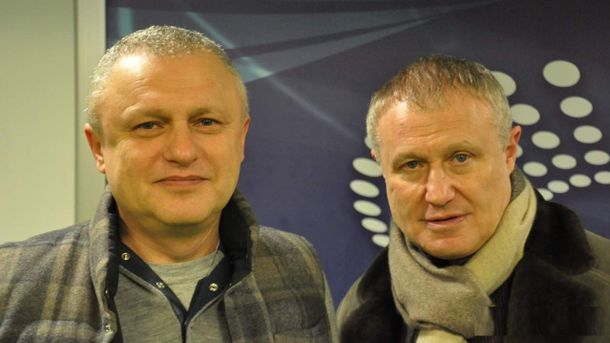 Братья Игорь и Григорий Суркис
