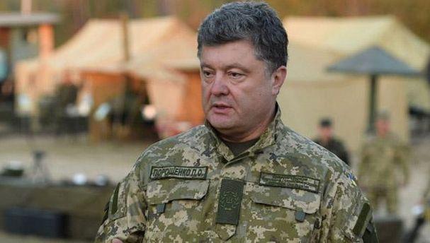 Порошенко заявив, що вторгнення армії РФ в Україну завадило завершенню АТО