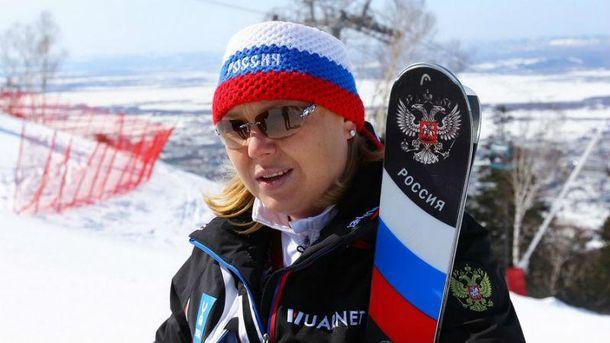 Російська спортсменка влаштувала провокацію з прапором на Олімпіаді (фото)