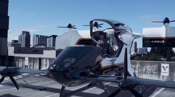 Компанія Airbus показала успішне випробування літаючого таксі