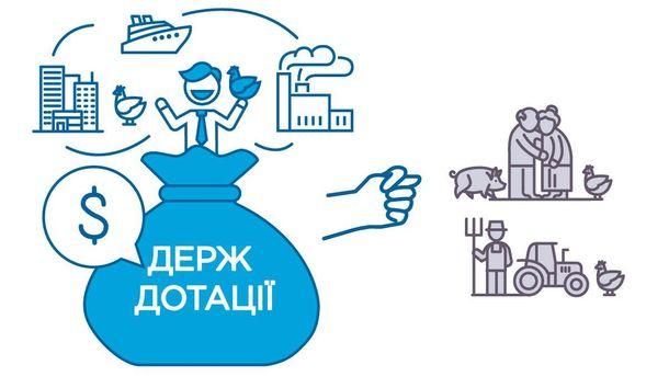 Украинцы платят дотации куриному олигарху Косюку, остальные аграрии пока подождут