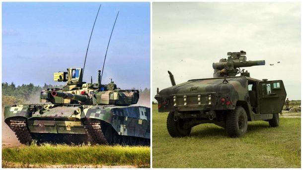 Україна підсилиться новими танками та протиракетними комплексами