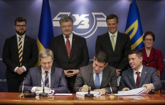 Головні новини 23 лютого: General Electric та Укрзалізниця, жертви АТО, Світоліна вийшла в фінал