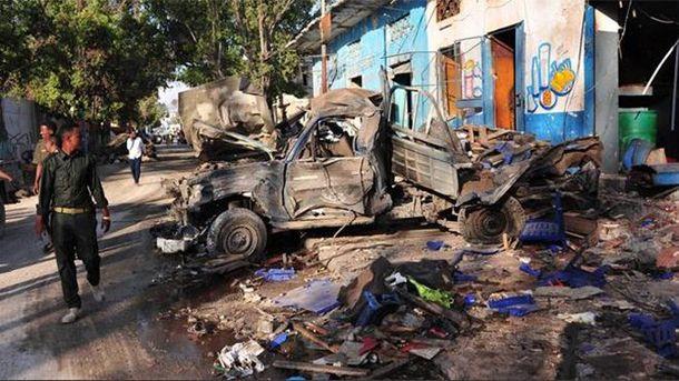 Подвійний вибух уСомалі: 18 осіб загинули, 20— поранено